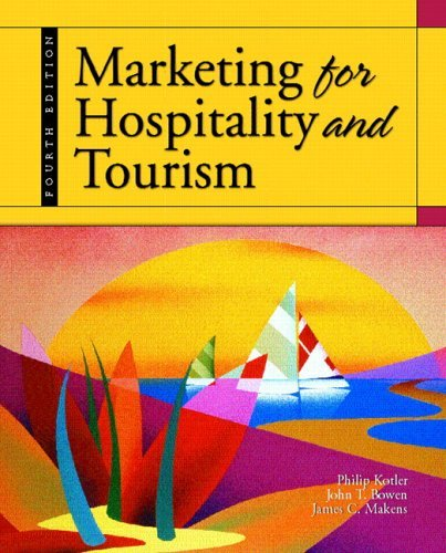 Marketing for Hospitality and Tourism  4th 2006 (Revised) edition cover