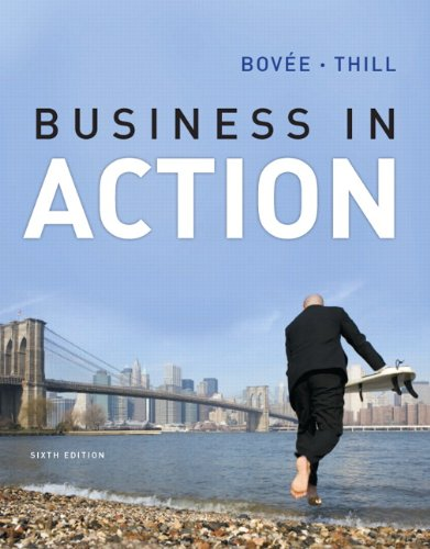 Business in Action  6th 2013 (Revised) edition cover