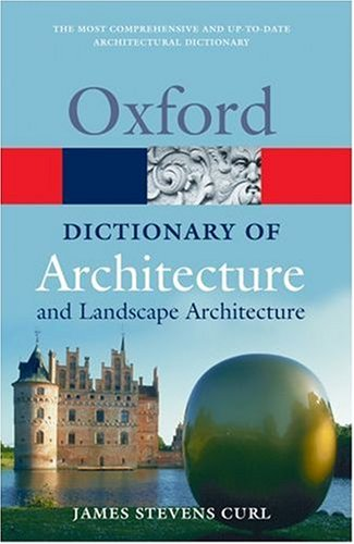 Dictionary of Architecture and Landscape Architecture  2nd 2005 (Revised) edition cover