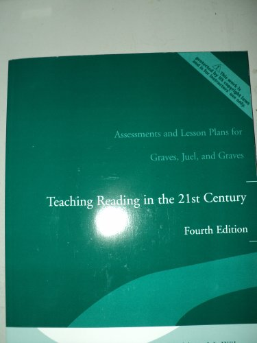 Assessments and Lesson Plans for Teaching Reading in the 21st Century:  4th 2006 9780205498789 Front Cover