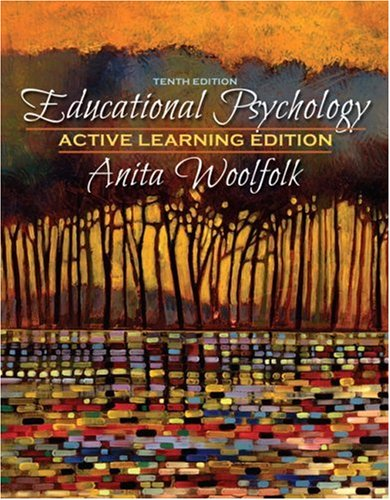 Educational Psychology, Active Learning Edition  10th 2008 edition cover