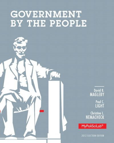 Government by the People  25th 2014 edition cover