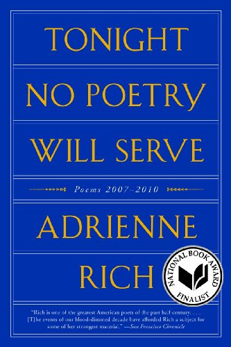 Tonight No Poetry Will Serve Poems, 2007-2010  2012 edition cover