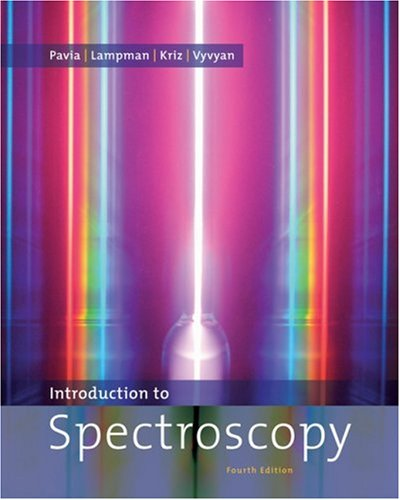 Introduction to Spectroscopy  4th 2009 edition cover