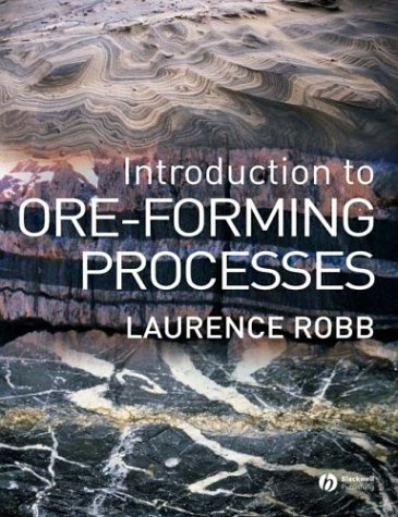 Introduction to Ore-Forming Processes   2004 edition cover