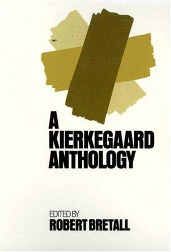 Kierkegaard Anthology   1974 edition cover