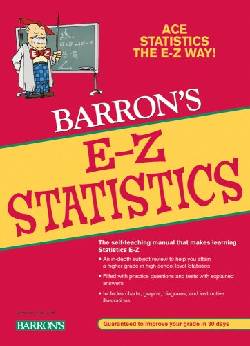 E-Z Statistics  4th 2009 (Revised) edition cover