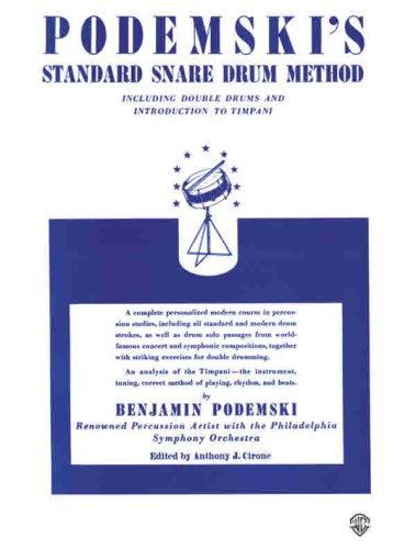 Standard Snare Drum Method  N/A edition cover
