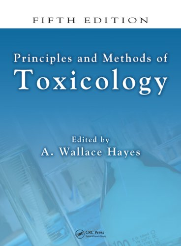 Principles and Methods of Toxicology  5th 2008 (Revised) edition cover