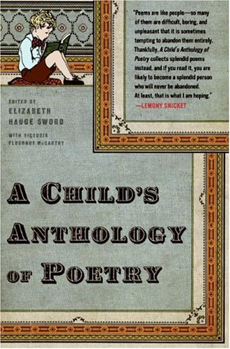 Child's Anthology of Poetry  N/A edition cover