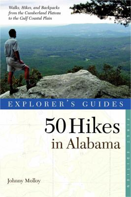 Explorer's Guide 50 Hikes in Alabama  N/A 9780881508789 Front Cover
