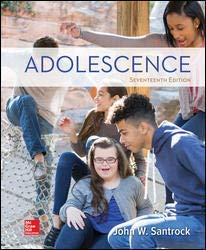 ADOLESCENCE                             N/A 9781260058789 Front Cover