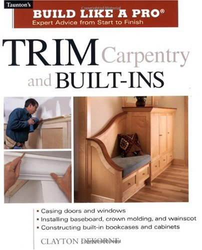 Trim Carpentry and Built-Ins   2002 edition cover