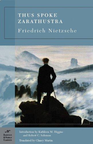 Thus Spoke Zarathustra  N/A edition cover