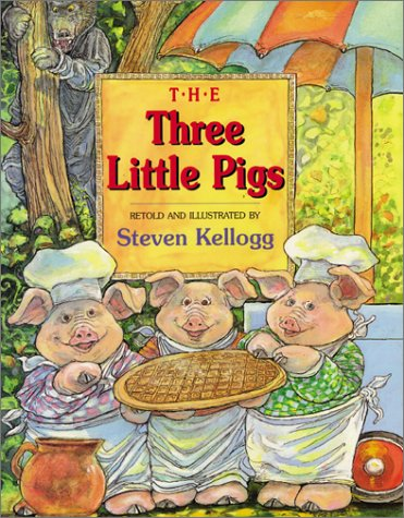 Three Little Pigs  N/A 9780064437790 Front Cover