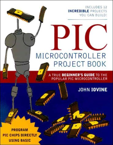 PIC Microcontroller Project Book   2000 edition cover