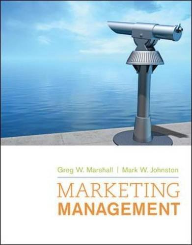 Marketing Management   2010 edition cover
