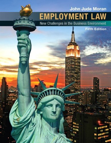 Employment Law  5th 2011 edition cover