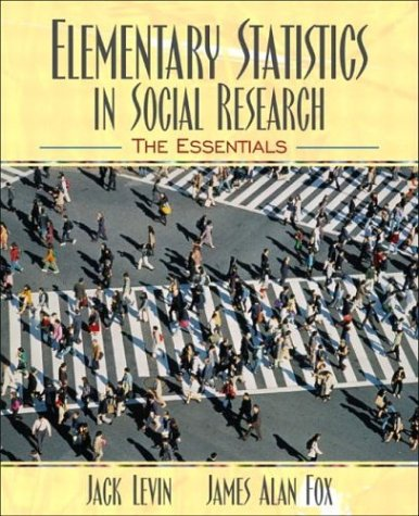 Elementary Statistics in Social Research The Essentials  2004 9780205375790 Front Cover