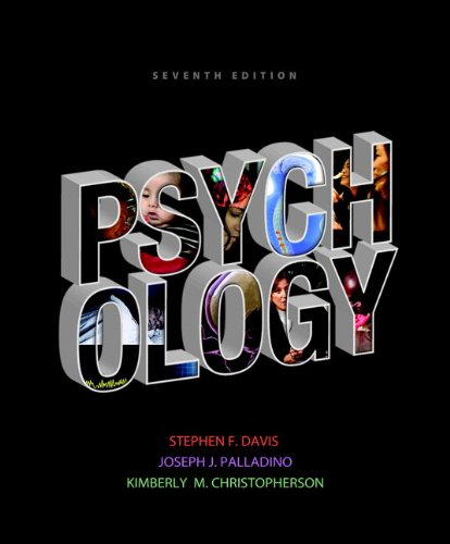 Psychology  7th 2013 edition cover