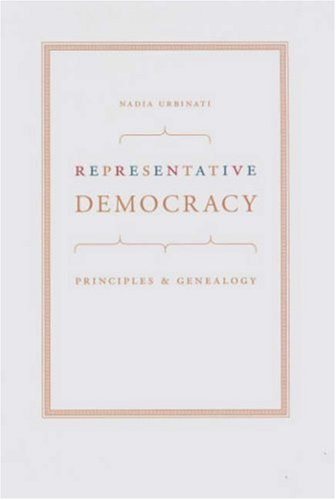 Representative Democracy Principles and Genealogy  2008 edition cover