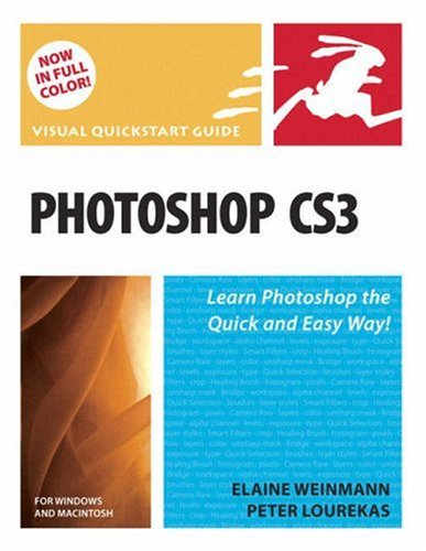 Photoshop CS3 for Windows and Macintosh Visual QuickStart Guide  2007 edition cover