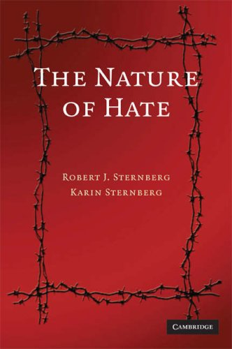 Nature of Hate   2008 9780521721790 Front Cover