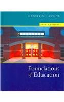 Foundations of Education  9th 2006 9780618768790 Front Cover