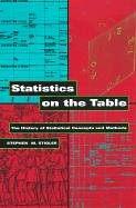 Statistics on the Table The History of Statistical Concepts and Methods  1999 9780674009790 Front Cover