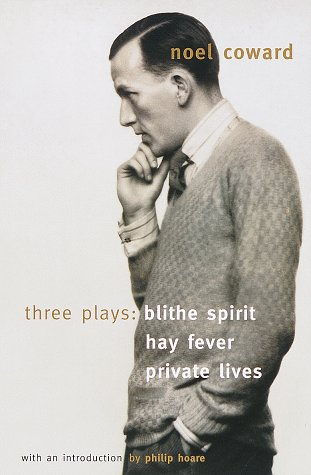 Blithe Spirit, Hay Fever, Private Lives Three Plays  1999 edition cover