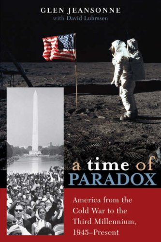 Time of Paradox America from the Cold War to the Third Millennium, 1945-Present  2007 edition cover