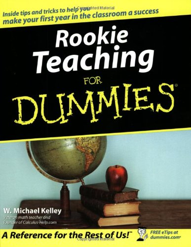 Rookie Teaching for Dummies   2003 edition cover
