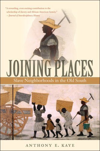 Joining Places Slave Neighborhoods in the Old South  2009 edition cover
