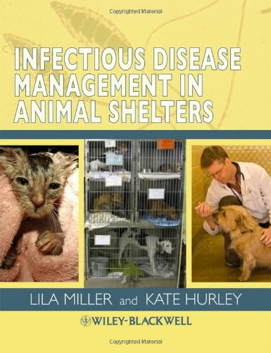 Infectious Disease Management in Animal Shelters   2009 edition cover