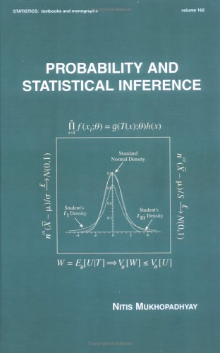 Probability and Statistical Inference   2000 edition cover