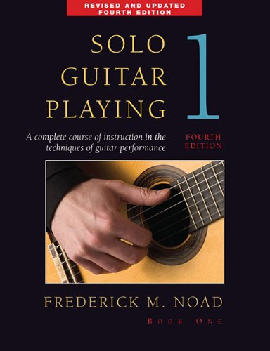 Solo Guitar Playing  4th 2009 (Revised) edition cover