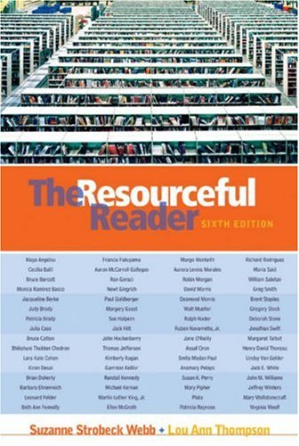 Resourceful Reader  6th 2004 (Revised) edition cover