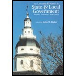 Lanahan Readings in State and Local Government : Diversity, Innovation, Rejuvenation 1st 2001 9780965268790 Front Cover