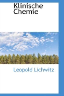 Klinische Chemie  N/A edition cover