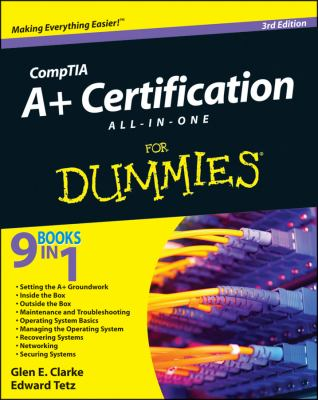 CompTIA A+ Certification All-in-One for Dummies�  3rd 2012 edition cover