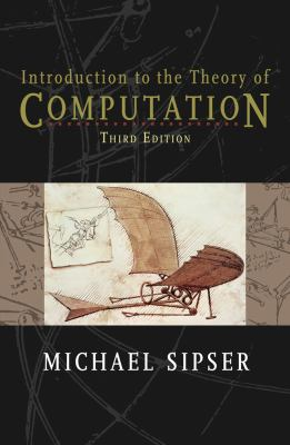 Introduction to the Theory of Computation  3rd 2013 edition cover