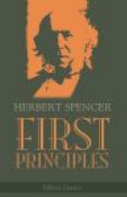 First Principles  Facsimile edition cover