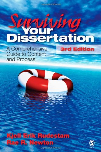 Surviving Your Dissertation A Comprehensive Guide to Content and Process 3rd 2007 edition cover