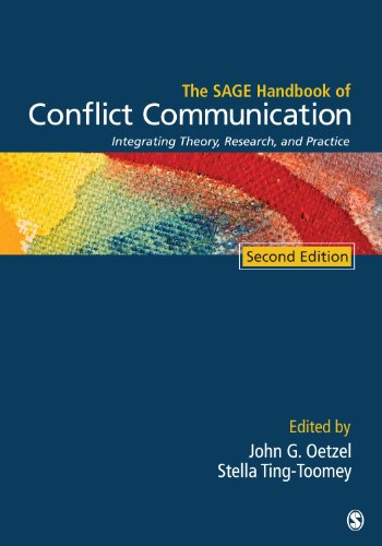 SAGE Handbook of Conflict Communication Integrating Theory, Research, and Practice 2nd 2013 edition cover