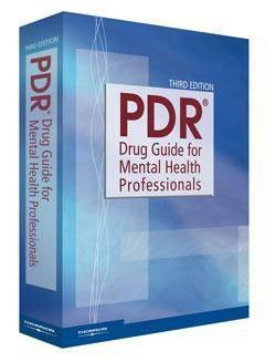 PDR Drug Guide for Mental Health Professionals  3rd 2007 edition cover