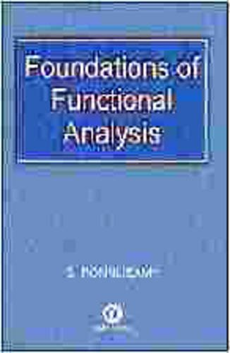 Foundations of Functional Analysis  2002 edition cover