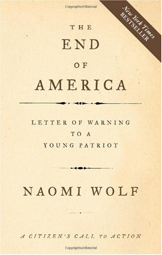 End of America Letter of Warning to a Young Patriot  2007 edition cover