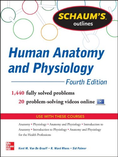 Schaum's Outline - Human Anatomy and Physiology  4th 2013 edition cover
