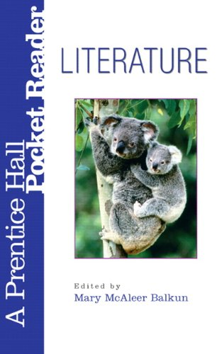 Literature A Prentice Hall Pocket Reader 3rd 2005 edition cover