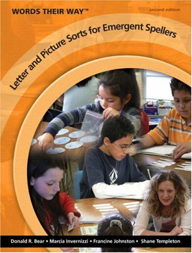 Words Their Way Letter and Picture Sorts for Emergent Spellers  2nd 2010 edition cover